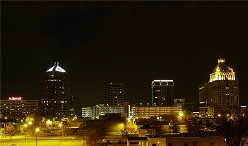 Greensboro skyline